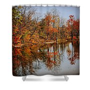 Little Lakes Shower Curtain