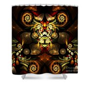 Little Lion - If You're Watching From A Distance Shower Curtain