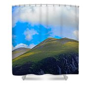 Little Man Skiddaw And Ullock Pike Shower Curtain