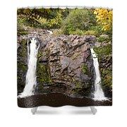 Little Manitou Falls Autumn 2 Shower Curtain