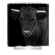 Little Moo Shower Curtain