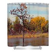 Little Oak II Shower Curtain