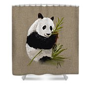 Little Panda Shower Curtain