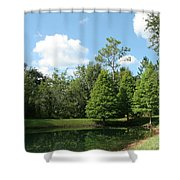 Little Pond Shower Curtain