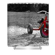 Little Red Trike Shower Curtain