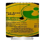 Little River Band It's A Long Way There Side 1 Shower Curtain