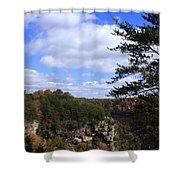 Little River Canyon Alabama Shower Curtain