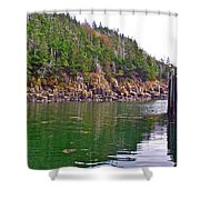 Little River In Digby Neck-ns Shower Curtain