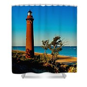 Little Sable Point Shower Curtain