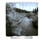 Little Spokane River Beauty Shower Curtain