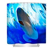 Little Swimmers Shower Curtain