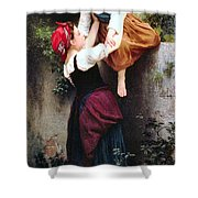 Little Thieves Shower Curtain