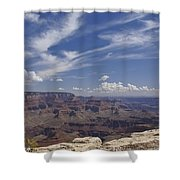 Little Tree...grand Canyon Shower Curtain