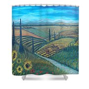Little Tuscany Shower Curtain