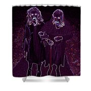 Little Vampires Shower Curtain