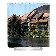Little Venice - Bamberg - Germany Shower Curtain