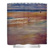 Little Wanderer Shower Curtain