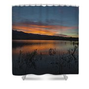 Little Washoe Sunset II Shower Curtain