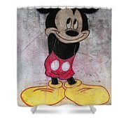Little Yellow Shoes Shower Curtain