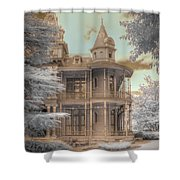Littlefield Mansion Shower Curtain