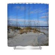 Little Talbot Sand Dunes Shower Curtain