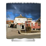 Liv Square Cesis Shower Curtain