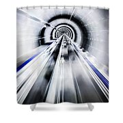 Live In The Future Shower Curtain