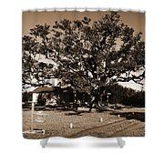 Live Oak Outer Banks Shower Curtain