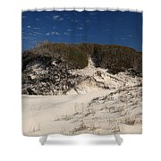 Lively Dunes Shower Curtain
