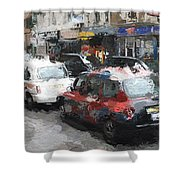 Liverpool Station London Shower Curtain