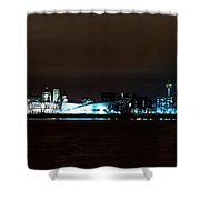 Liverpool Waterfront Shower Curtain