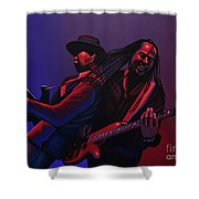 Living Colour Painting Shower Curtain