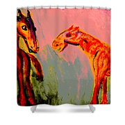 You Will Be Living In My Dreams  Shower Curtain