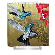 Living Jewels Shower Curtain