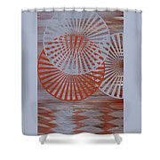 Living Spaces No 2 Shower Curtain