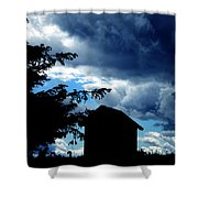 Livoe Island Late Day Denmark Shower Curtain