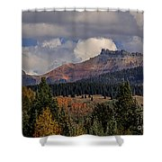 Lizard Head Wilderness Shower Curtain