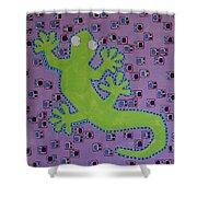Lizard Lizard Shower Curtain