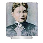 Lizzie Andrew Borden (1860-1927) Shower Curtain