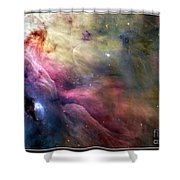 Ll Ori And The Orion Nebula Nasa Shower Curtain