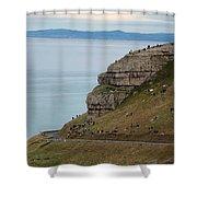 Llandudno  Shower Curtain