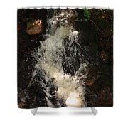 Llangollen And Maelor Country Waterfalls Shower Curtain