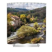 Llangollen And The River Dee Shower Curtain