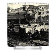 Llangollen Railway Shower Curtain
