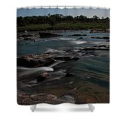 Llano River 2am-105143 Shower Curtain