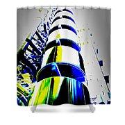 Lloyd's Building London Art Shower Curtain