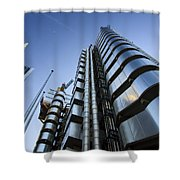 Lloyd's Building. Shower Curtain