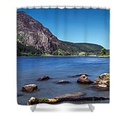 Llyn Cwellyn Shower Curtain