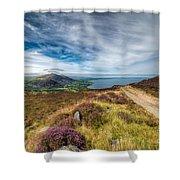 Llyn Peninsula Shower Curtain