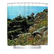Lobster Cove Head In Gros Morne Np-nl Shower Curtain